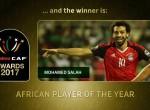 实至名归!红军大腿萨拉赫荣膺非洲足球先生
